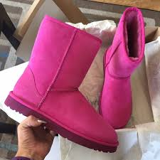 ugg s boots size 11 43 ugg shoes ugg furious fuchsia boots sz 11