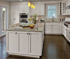 are painted or stained kitchen cabinets in style painted kitchen cabinets in alabaster finish kitchen craft