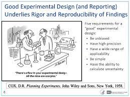 good experimental design rigor reproducibility back to basics ppt video online download