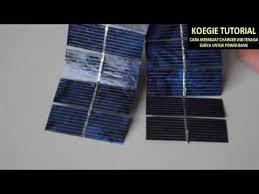 cara membuat powerbank dengan panel surya cara membuat powerbank yang sangat praktis dan simple youtube