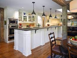 kitchen island post post and beam construction kitchen farmhouse with large kitchen