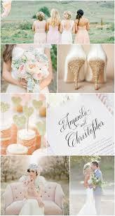 blush gold wedding inspiration u2013 wedding invitations