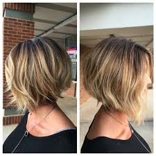 balayage ombré inverted bob haircut our stylist work pinterest