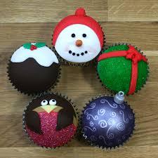 festive christmas cupcakes winter cupcake tutorial
