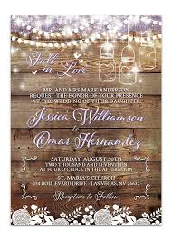 jar bridal shower invitations rustic jar bridal shower invitation lot paperie