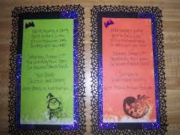 make halloween invitations diy homemade halloween party invitations lulu u0027s wanderlust