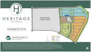 residence two new home plan in heritage at cadence encore by lennar