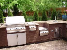 diy brick outdoor kitchen kitchen decor design ideas