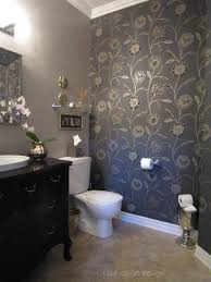 Tile Powder Room Ideas Single Wash Basin Toilet Mirror Decorated Small Powder Room