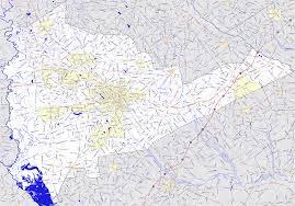 Road Map Of South Carolina Bridgehunter Com Sumter County South Carolina