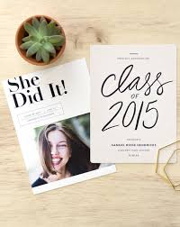 graduation announcements high school celebrate the graduate with these modern and eco friendly