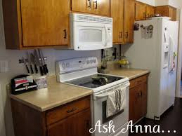 Particle Board Kitchen Cabinets by Particle Board Kitchen Cabinet Makeover Kitchen