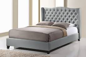 wingback bed king purple wingback bed king and other style
