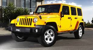 yellow jeep wrangler unlimited 2013 jeep wrangler overland brings luxury to rugged off roader