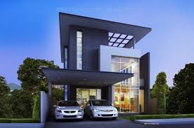 three story home plans modern style three story home plans for construction in thai