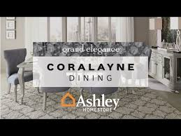 Ashley Dining Room Tables And Chairs Coralayne Dining Room Table Ashley Furniture Homestore