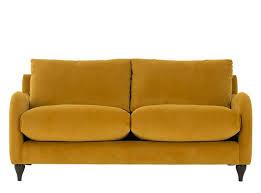 canape sofia sofia canapé 2 places velours jaune curcuma lounge ideas