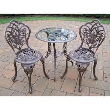 Patio Furniture Bistro Set - cushions metal patio furniture bistro sets patio dining