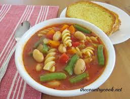 minestrone soup the country cook