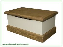 solid wood interiors u003e pine toy box small cream and waxed