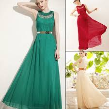 evening maxi dresses aliexpress buy graceful hollow out sleeveless