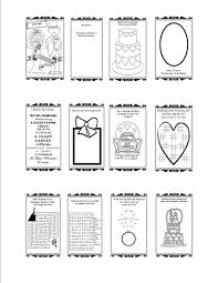 free printable wedding activity book mockeri style