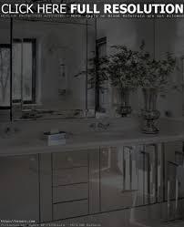 small beveled mirror squares vanity decoration