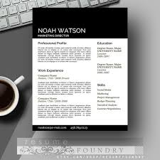 Resume Of A Teacher Sample by 111 Best Resume Templates Etsy Images On Pinterest Cv Template