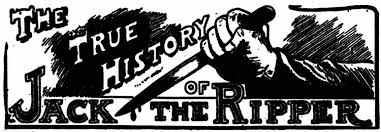 the true history of the ripper 1905 by logan