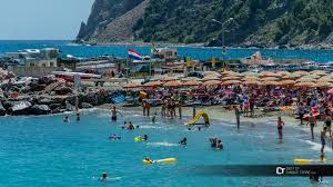 Map Of Cinque Terre Italy by The Main Beaches