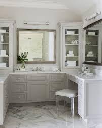 Bathroom Vanities Seattle Sink Bathroom Vanity With Makeup Area In Master Bath The