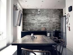 papier peint trompe l oeil cuisine papier peint trompe l œil 33 idées pour embellir maison
