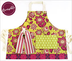 thanksgiving aprons double sided cook u0027s apron with handy towel loop sew4home