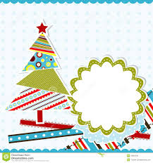 template christmas greeting card vector stock vector image