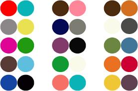 2 color combination color me happy whoorl