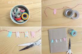 Harri Wren DIY Washi Tape Decorated Notebooks