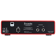 Best Bedroom Audio Interface Focusrite Scarlett 2i2 Mk2 2 In 2 Out Usb Audio Interface
