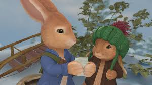 rabbit and benjamin bunny image 101 rabbits christmas tale 16x9 jpg