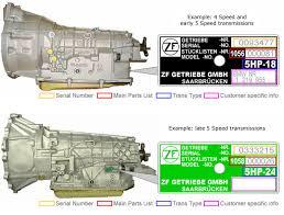 bmw transmissions bmw models identification