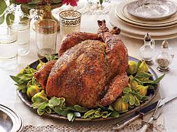 brined herb roasted turkey recipe myrecipes