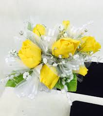 prom corsage yellow prom corsage swenson silacci flowers