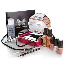 Professional Airbrush Makeup System Has Anyone Else Tried Luminess Air Airbrush Makeup System How
