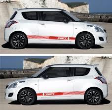 subaru rally decal ssk140 suzuki swift 3 u0026 5 doors maruti drift rally racing side car