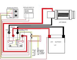 Atv Solenoid Wiring Diagram Electric Winch Relay Wiring Diagram How To Wire A Winch Solenoid