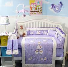 Monkey Crib Bedding Sets Amazon Com Soho Lavender Wolly Sheeps Crib Nursery Bedding Set