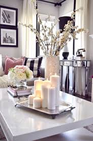 living room vases decor wooden flooring small side table best