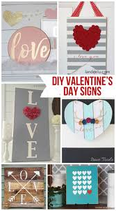 How To Make Home Decor Signs 1459 Best Valentine U0027s Day Diy Inspiration Images On Pinterest