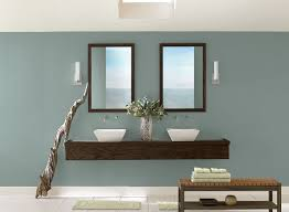 blue bathroom ideas sleek and simple blue bathroom paint