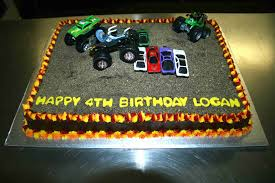 monster truck cakes u2013 decoration ideas little birthday cakes