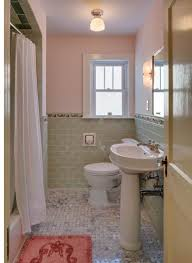 bungalow bathroom ideas 1930 lavatory and pedestal combo in white 1930 bathroom